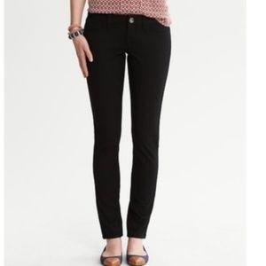 Banana Republic Black Sloan Skinny Ankle Jeans 10